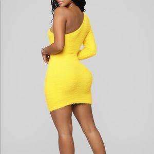 Bel Air Faux Fur Dress